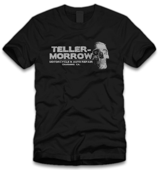 teller morrow t shirt Sons of Anarchy Teller Morrow T Shirt