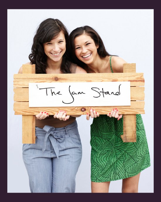 the jam stand Meet Busted Tees Models Jessica Quon and Sabrina Valle