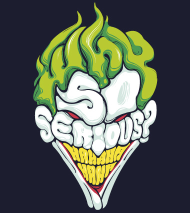 why so serious Lafraise: Shirt Shop Interview