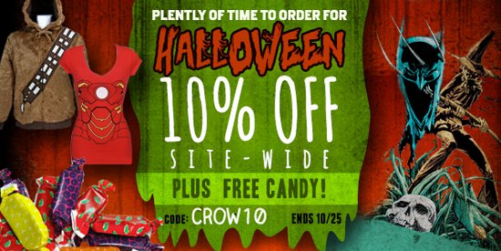 10 percent off super hero stuff halloween 2012 10 Percent Off At Super Hero Stuff