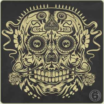ace of the dead skull t shirt Ace of the Dead Skull T Shirt