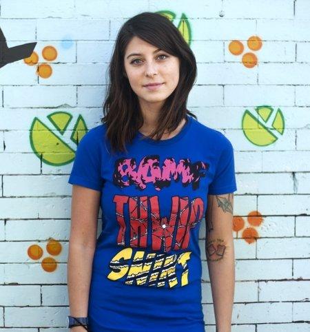 bamf thwip snikt super sounds t shirt Super Sounds T Shirt