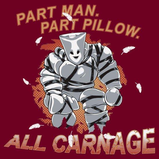 community pillow man t shirt Community Pillow Man T Shirt