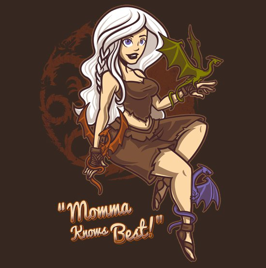 dragon momma knows best t shirt Game of Thrones Dragon Momma Knows Best T Shirt