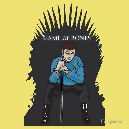 game of bones t shirt Nick Heazell (aka Firepower): Designer Interview