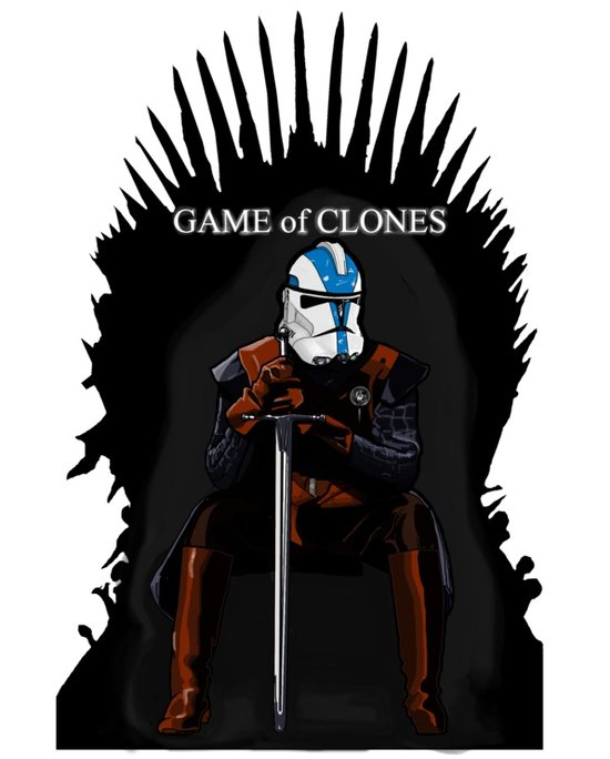 game of clones t shirt Nick Heazell (aka Firepower): Designer Interview