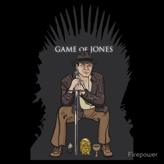 game of jones t shirt Nick Heazell (aka Firepower): Designer Interview