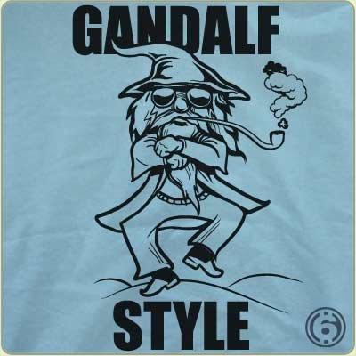 gandalf style t shirt Gandalf Style T Shirt