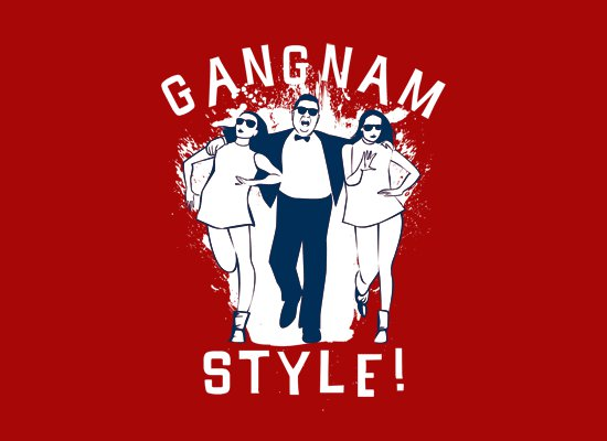 gangnam style t shirt1 Gangnam Style T Shirt