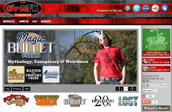 gritfx home page GritFX: Shirt Shop Interview