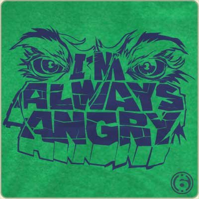 im always angry t shirt The Hulk Im Always Angry T Shirt