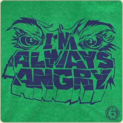 im always angry t shirt The Hulk Im Always Angry T Shirt