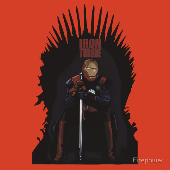 iron throne t shirt Nick Heazell (aka Firepower): Designer Interview
