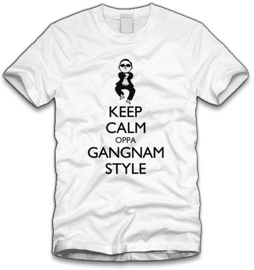 keep calm oppa gangnam style t shirt Keep Calm Oppa Gangnam Style T Shirt
