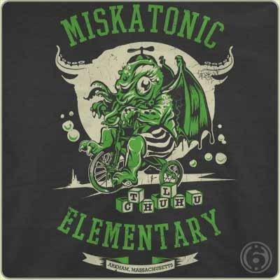 miskatonic elementary t shirt Miskatonic Elementary T Shirt