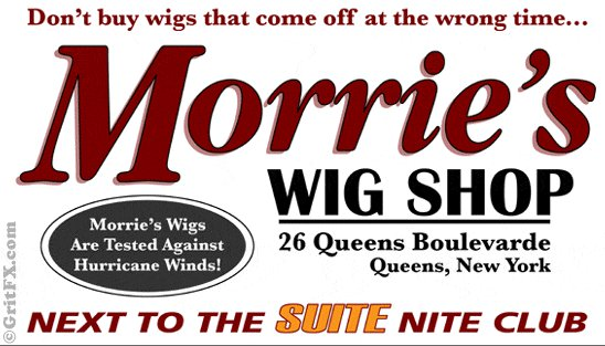 morries wig shop t shirt GritFX: Shirt Shop Interview