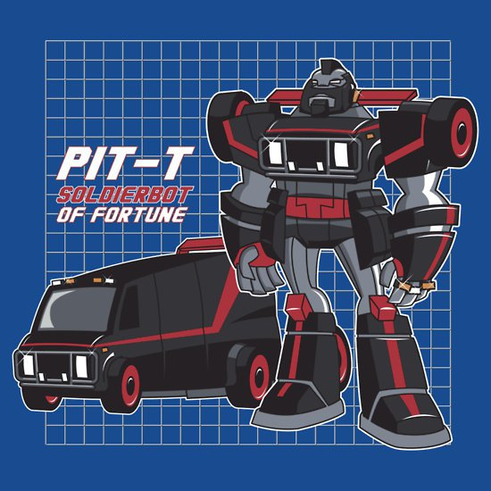 pit t soldierbot of fortune t shirt Pit T Soldierbot of Fortune T Shirt