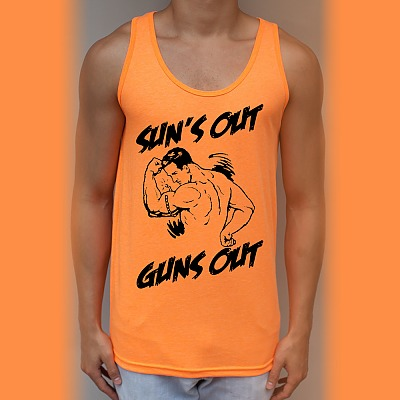 suns out guns out tank RadCakes: Shirt Shop Interview