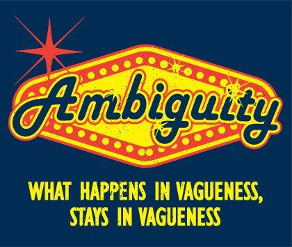 ambiguity t shirt Ambiguity T Shirt