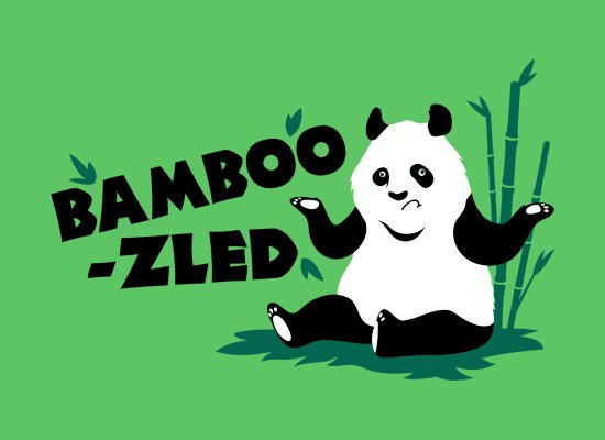 bamboozled t shirt Panda Bamboozled T Shirt
