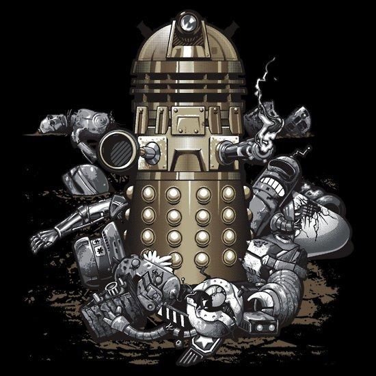 dalek extermination t shirt Dalek Exterminated T Shirt