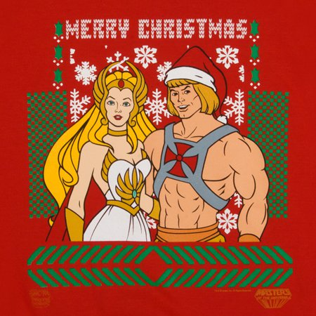 he man she ra christmas sweater He Man She Ra Merry Christmas Sweater