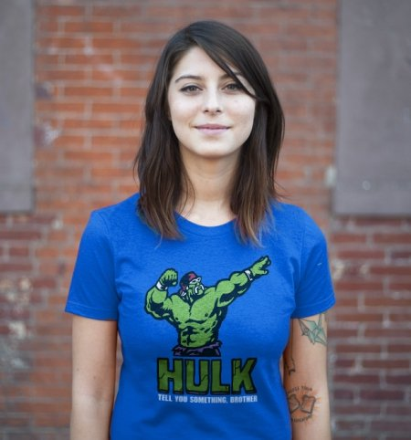 incredible hulk hulkamania t shirt The Incredible Hulk Hogan T Shirt