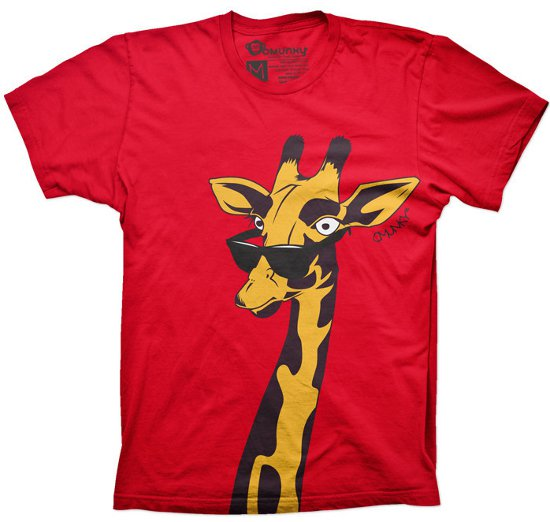 spots and shades t shirt OMUNKY: Shirt Shop Interview