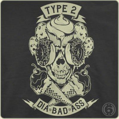 type 2 dia bad ass t shirt Type 2 Dia Badass T Shirt