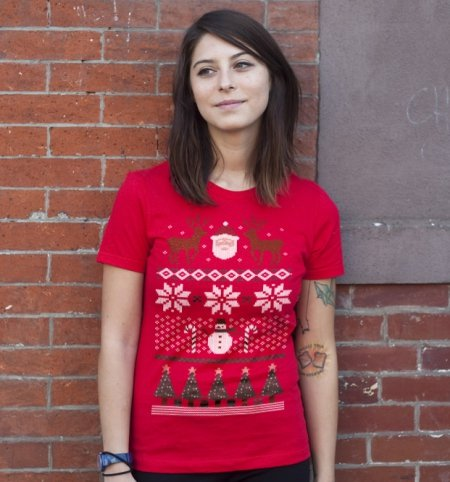 ugly christmas sweater t shirt Ugly Christmas Sweater T Shirt