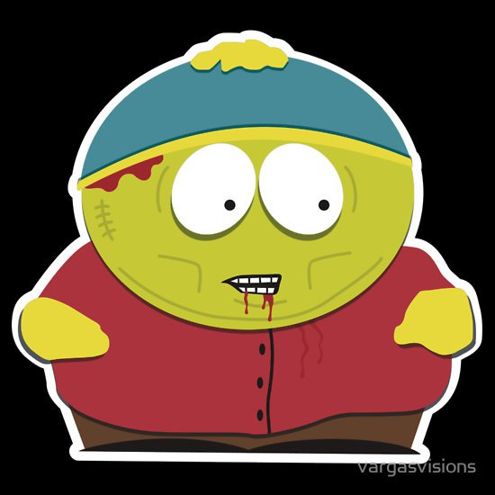 cartman-zombie-t-shirt