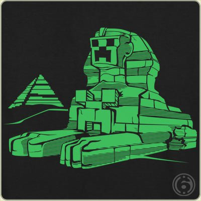 creeper-sphinx-t-shirt