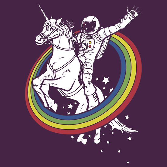 epic combo 23 t shirt Astronaut Unicorn Rainbow Epic Combo T Shirt