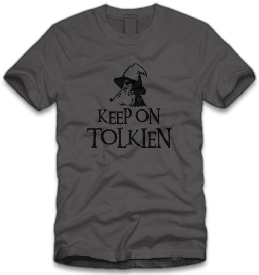 keep-on-tolkien-t-shirt