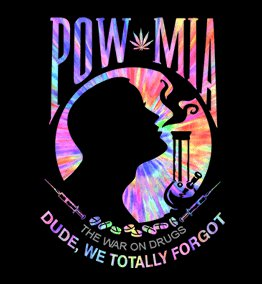 pow mia war on drugs t shirt POW MIA: The War On Drugs T Shirt