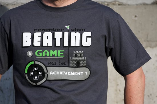 remember when beating the game was the achievement t shirt Remember When Beating A Game Was the Achievement T Shirt