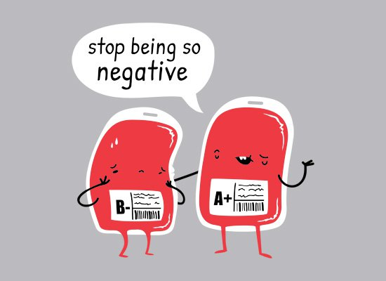 stop being so negative t shirt Stop Being So Negative T Shirt