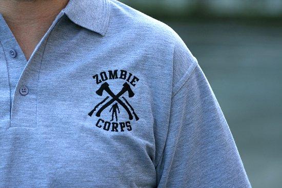 zombie corps polo shirt Zombie Corps Polo Shirt