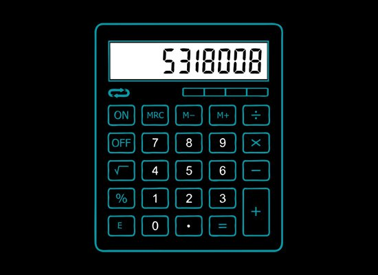 8008135 t shirt Calculator Boobies 8008135 T Shirt