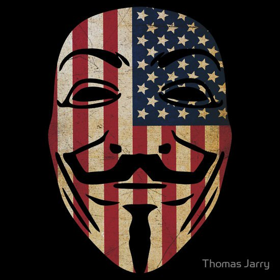 anonymous usa t shirt Anonymous USA T Shirt