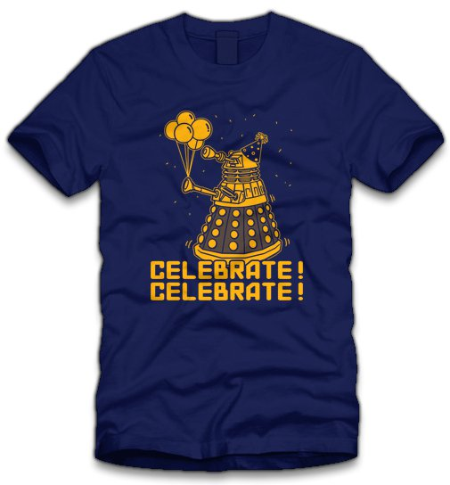 celebrate-dalek-t-shirt