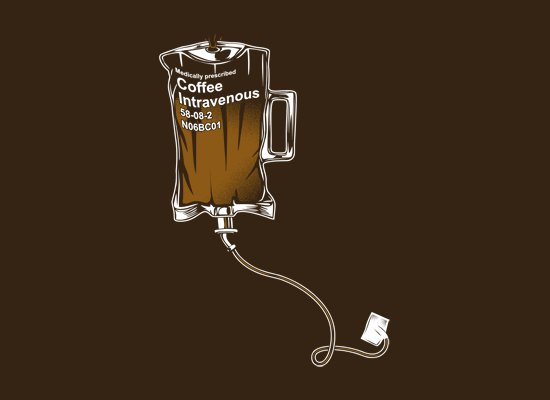 coffee intravenous t shirt Coffee Intravenous T Shirt