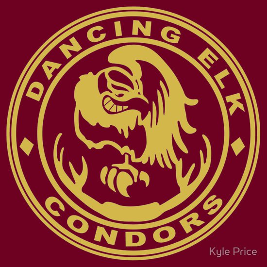 dancing-elk-condors-t-shirt