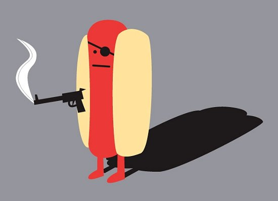 diabolical hot dog t shirt Diabolical Hot Dog T Shirt