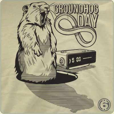 groundhog-day-forever-t-shirt