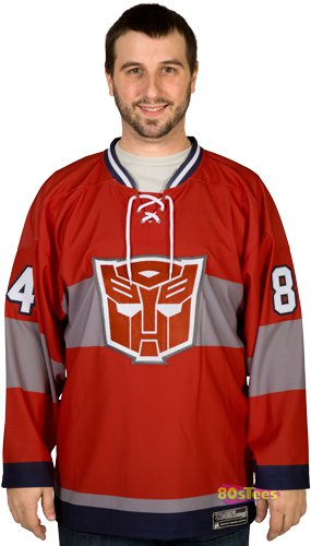 optimus prime hockey jersey t shirt Optimus Prime Hockey Jersey