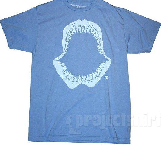 shark jaw t shirt1 Open for Business Shark Jaw T Shirt