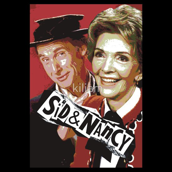 sid and nancy reagan t shirt Sid and Nancy T Shirt