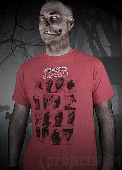the walking dead faces t shirt The Walking Dead Faces T Shirt