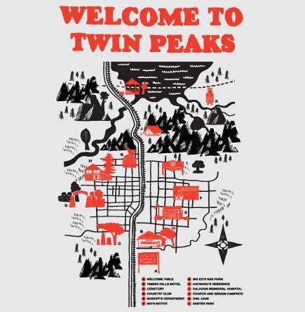 welcome to twin peaks t shirt Welcome to Twin Peaks T Shirt